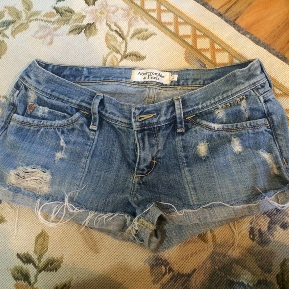 Abercrombie & Fitch Other - Abercrombie jean shorts