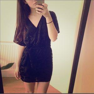h m dresses hm conscious collection velvet wrap style dress poshmark