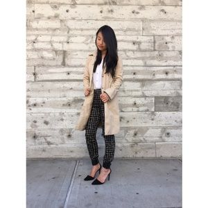 {kenneth cole} tan trench coat