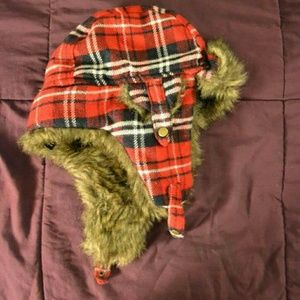 Forever 21 Accessories - Forever 21 Flannel Winter Hat