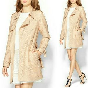 HP! Piperlime LACE TRENCH COAT