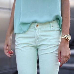 Zara • Mint Green Pants
