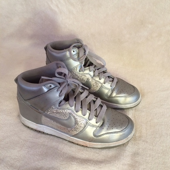 75 off nike shoes silver nike hiphop shoe from ariella