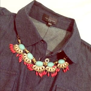 Colorful Tribal Inspired Necklace