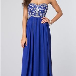 Dresses & Skirts - B. Darlin prom dress boughten off PromGirl