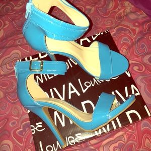 Shoes - Baby blue Heels 💙