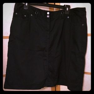 Dresses & Skirts - Easy and comfortable, black SKORT