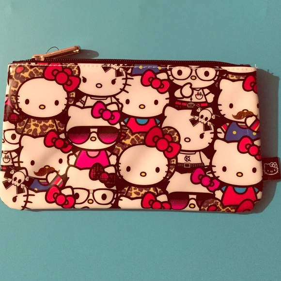 Hello kitty loungefly makeup bag or pencil pouch e486d57898049