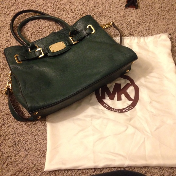 57% off Michael Kors Handbags - Forest Green Michael Kors bag from ...