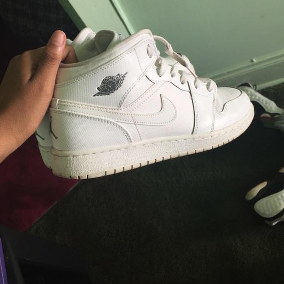 Nike Shoes All White High Top Air Force 1 Poshmark