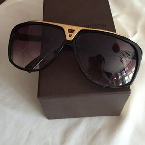 a95a8baee2c Women s Authentic Louis Vuitton Evidence Sunglasses on Poshmark