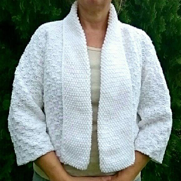 Lobax Jackets & Blazers - *HP X 2* Hand Knit Kimono Sleeve Cardigan Sweater