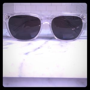 Super Sunglasses Accessories - Super by RetroSuperFuture Clear Sunglasses