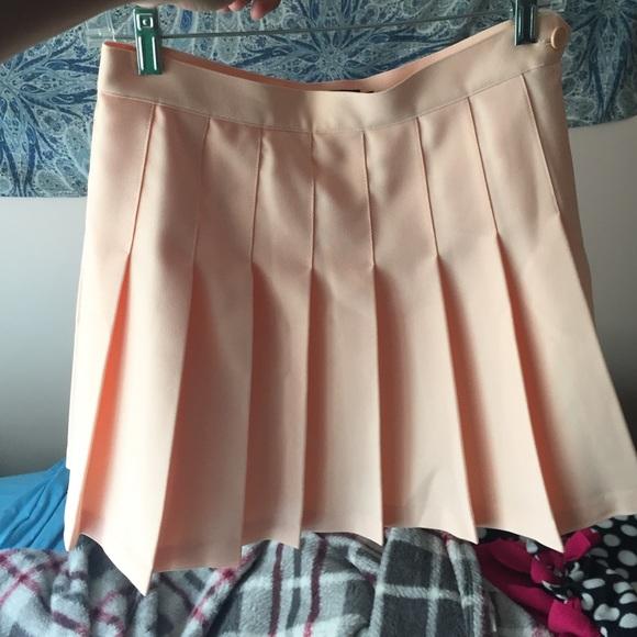 Is Sun Setting On Tennis In America >> American Apparel Skirts Tennis Skirt In Sunset Poshmark