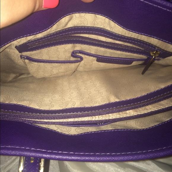 33 Off Michael Kors Handbags Authentic Nwot Deep Purple