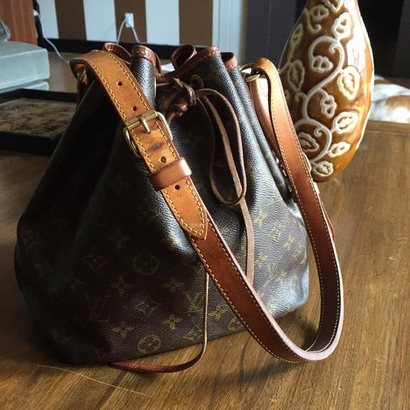 Attractive Louis Vuitton Noe Monogram Drawstring Bucket Bag | Poshmark LG86