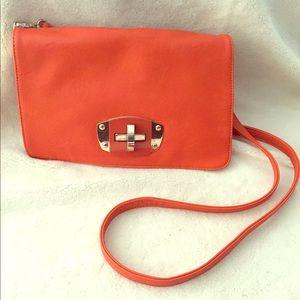 Handbags - Beautiful Orange Crossbody Purse