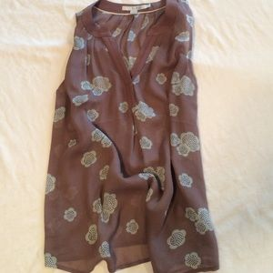Sleeveless printed blouse from Boden