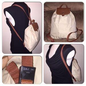 Longchamp Le Pliage Sac A Dos Foldable Backpack!