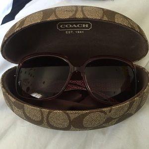 Coach sunglasses!