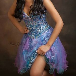 Night Moves Dresses & Skirts - ShortStrapless Prom/Homecoming Dress from promgirl