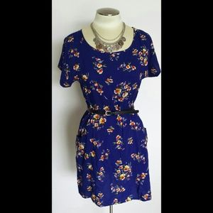 Forever 21 Dresses & Skirts - NWT Blue floral dress