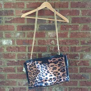 Leopard duo side bag