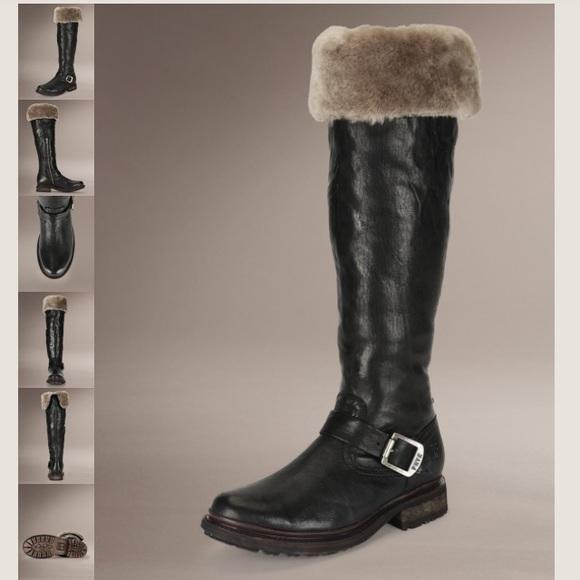 1c00d984af599 Frye Shoes | Valerie Over The Knee Boot In Black Size 9 | Poshmark