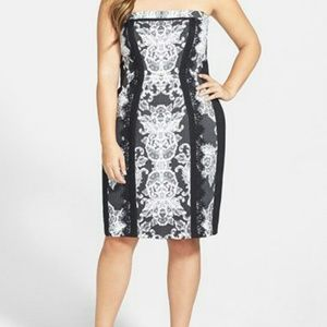 City Chic Dress Lace Affair