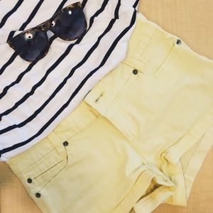 F21 Pale Denim Shorts