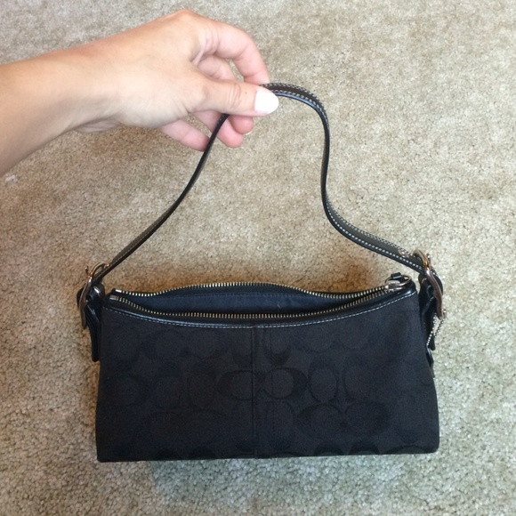 Coach Bags - Small Black Coach Purse