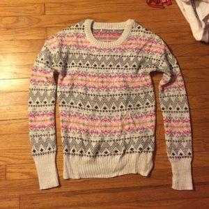 Super adorable patterned sweater