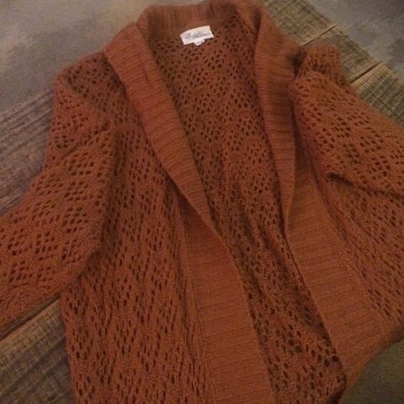 57% off Forever 21 Sweaters - rust colored long cardigan from ...