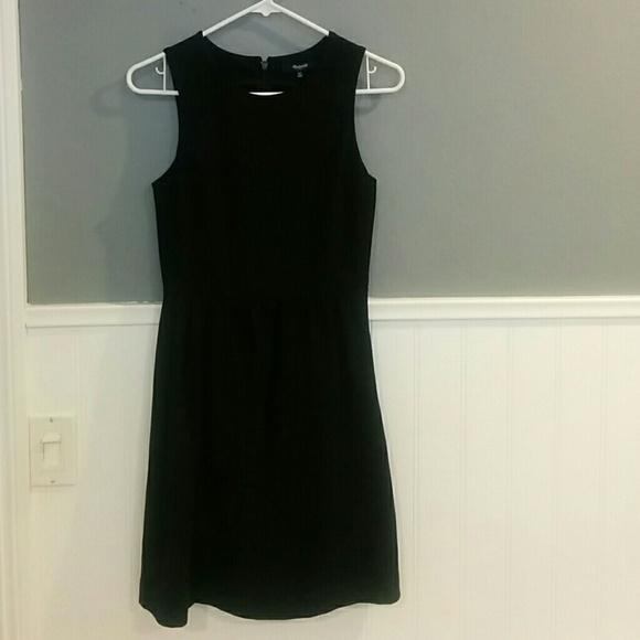 6b87e113cf4 Madewell Dresses   Skirts - MADEWELL Black Dress