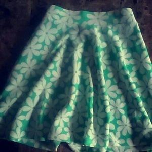 Other - Flower skater skirt