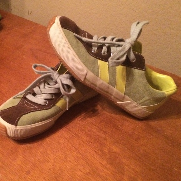 dkny dkny suede tennis shoes from s closet on