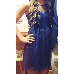 "Navy ""Gatsby"" Formal Dress"