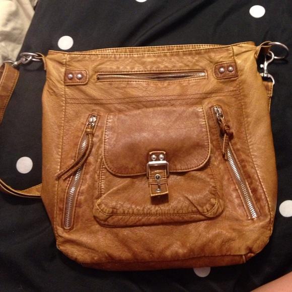 5f88e41ffae Mossimo Supply Co. Bags   Brown Target Distressed Cross Body Bag ...