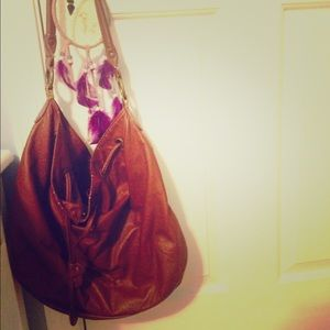 H&M  faux leather hobo bag