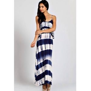 """Escape"" Tie Dye Maxi Dress"