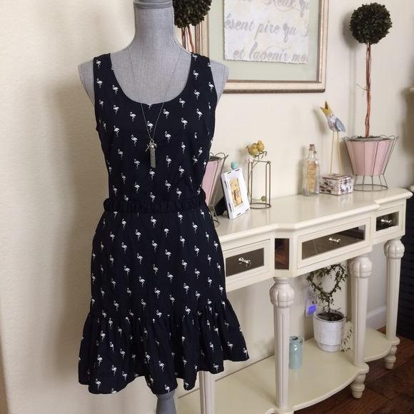 121d3b17b69 Flamingo summer dress from BR