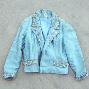 Sparkly vintage jacket !