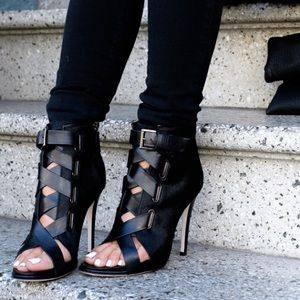 DVF Buckle Strap Booties