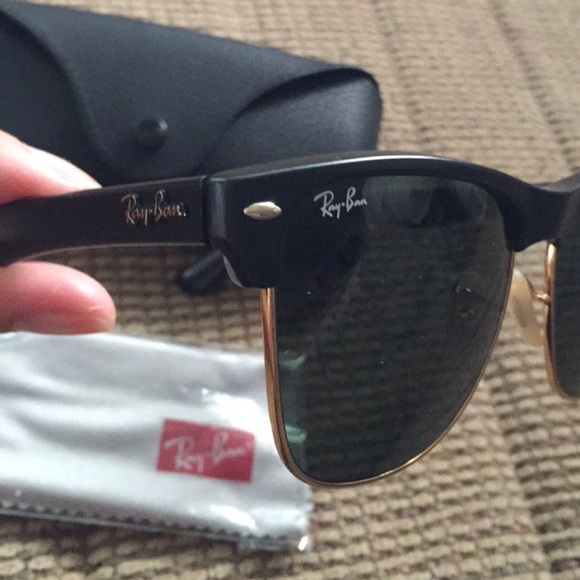 ray ban oversized clubmaster qp8t  Ray-Ban Accessories