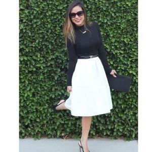 All white midi skirt – Modern skirts blog for you