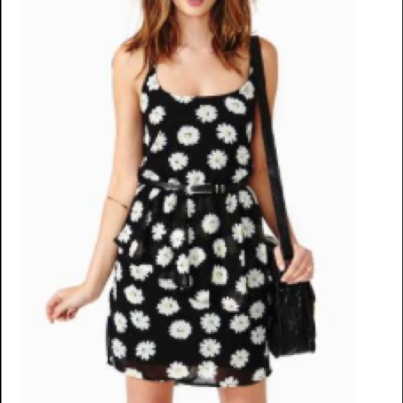 1c5cbe2f91 Nasty Gal Reverse Lazy Daisy Peplum Dress