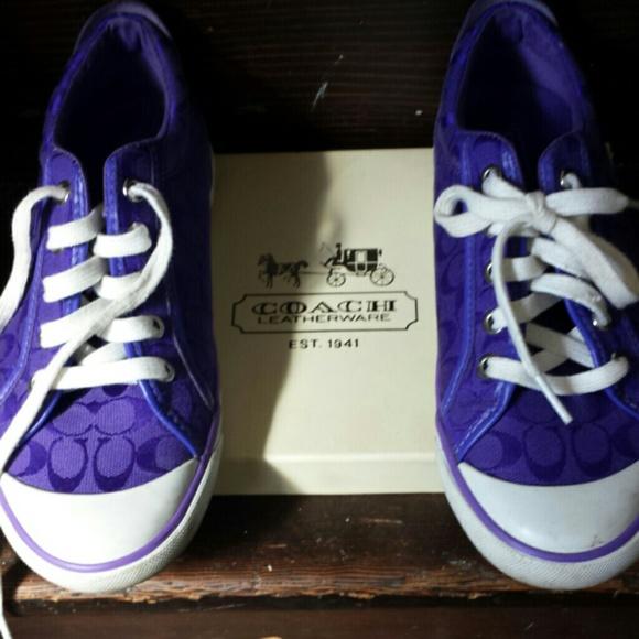 Coach Shoes | Purple Coach Shoes | Poshmark
