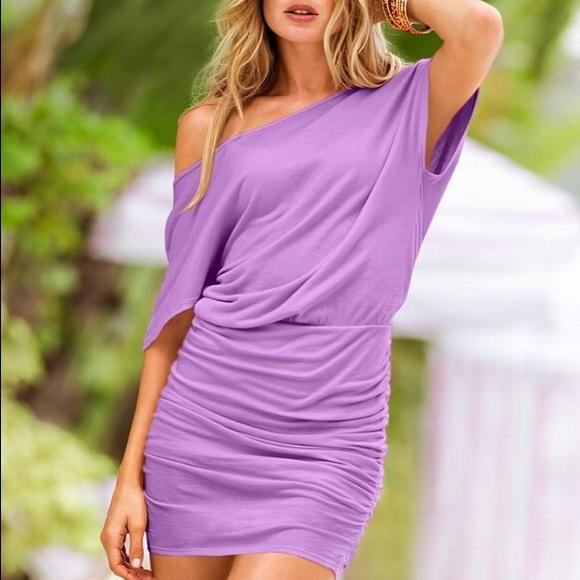 f4cbe76b9b36 Ruched off the shoulder t-shirt dress. Victoria s Secret.  M 55b1f898b909cf643f0093d8. M 55b1ef9872c9c52d0f009512.  M 55b1ef992035ea7aa2009414