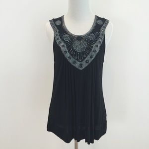 Kimchi Blue Tops - KIMCHI BLUE | Black Sleeveless Top NWOT