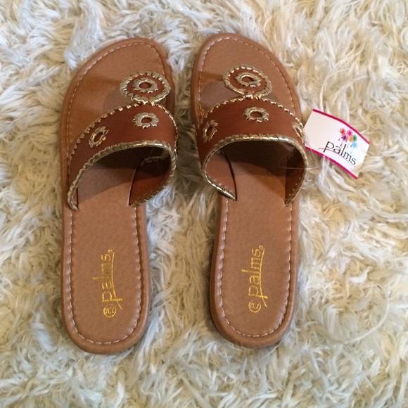 6a746f974ef0 Jack Roger look alike palm sandals